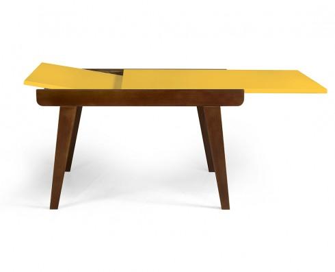 Mesa de jantar Extensível Maxi  -  Amarela