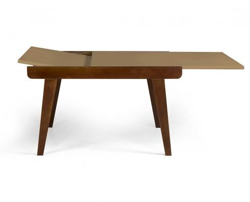 Mesa de jantar Extensível Maxi  -  Marrom Claro