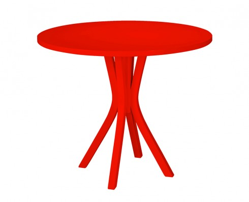 Mesa de Jantar Felice - Vermelha