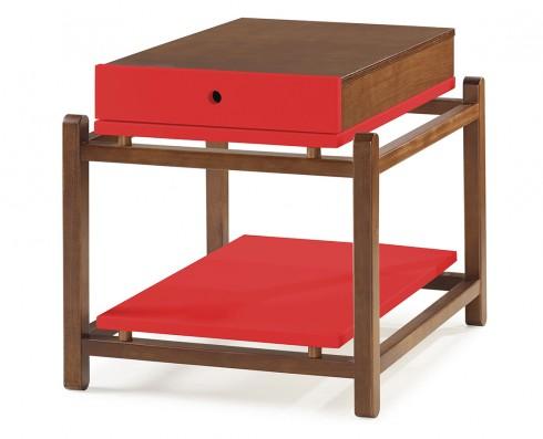 Mesa Lateral Uno  -  Vermelha
