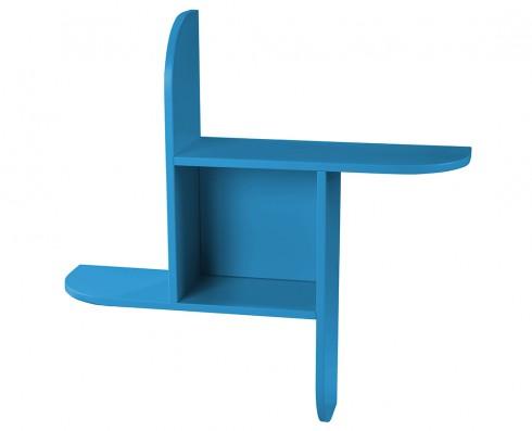Prateleira Fun  -  Azul Turquesa