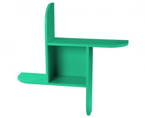 Prateleira Fun  -  Verde Esmeralda