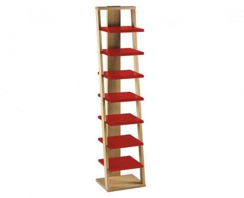 Prateleira Torre Stairway  -  Vermelha
