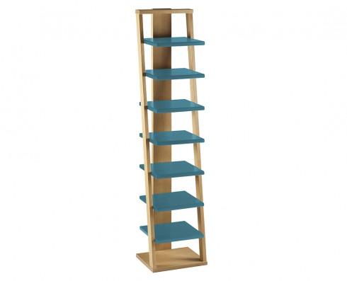 Prateleira Torre Stairway  -  Azul Turquesa