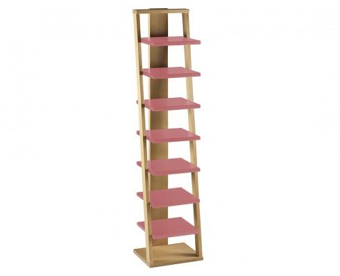 Prateleira Torre Stairway - Rosa