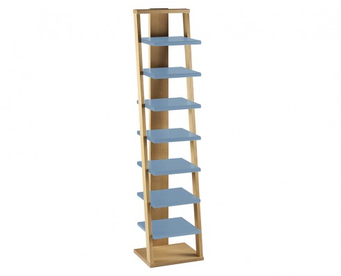 Prateleira Torre Stairway - Azul Claro