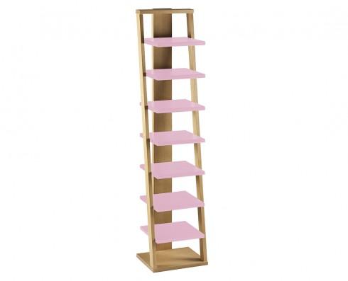 Prateleira Torre Stairway  -  Rosa Claro