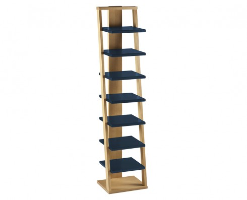 Prateleira Torre Stairway  -  Azul Escuro