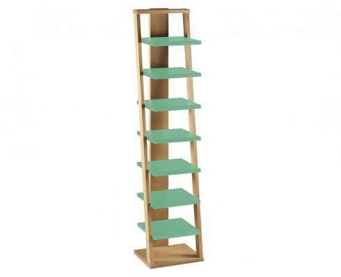Prateleira Torre Stairway  -  Verde Esmeralda