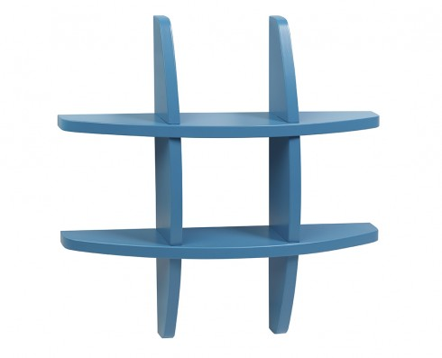 Prateleira Taylor Pequena  -  Azul Turquesa
