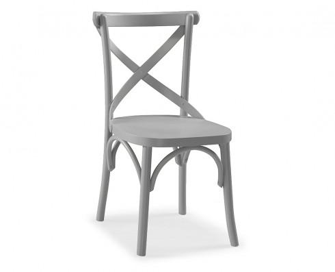 Cadeira X - Cinza