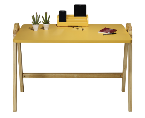 Escrivaninha Ringo  -  Amarela